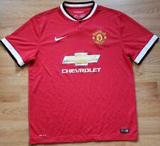 Manchester United 2016/18 Home Jersey Football Soccer Shirt Mens XL Red