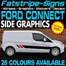 FORD TRANSIT CONNECT GRAPHICS STICKERS STRIPES DECALS VAN M SPORT ST SWB LWB