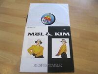 Maxi Single LP Mel & Kim Respectable Vinyl Supreme Records INT 125.580