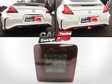 3 in 1 Smoke Lens Rear LED Fog Light Brake Backup Reverse For 09-up Nissan 370Z