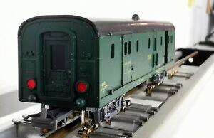 JOUEF 5420 ECHELLE HO 1/87 SNCF FOURGON A BAGAGES EPOQUE 3 AVEC FEUX + BOITE