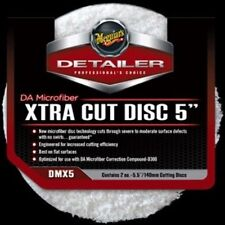 "Meguiar's Detailer DA Dual Action Microfiber Xtra Cut Disc 5"" (2 pack) Car Crazy"