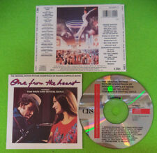 CD SOUNDTRACK ONE FROM THE HEART Tom Waits & Crystal Gayle 1982 no mc lp (OST8)