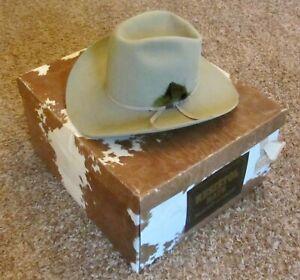 RESISTOL Self Conforming Cowboy Hat CATTLEKING Color MINK 3X Beaver 6 7/8 in BOX