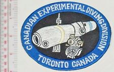 Canada Royal Canadian Air Force RCAF Experimental Diving Division Toronto, ON