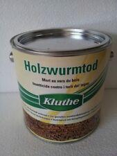 Kluthe Holzwurmtod 2,5 L - Holzschutzmittel gegen Holzwürmer Holzwurm Holzschutz