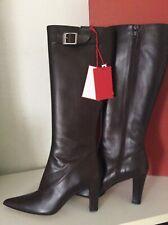 Stivali da donna marrone Alto (7,6 10 cm) Taglia 38