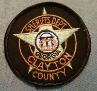GA Clayton County Georgia Sheriff Patch (3In)