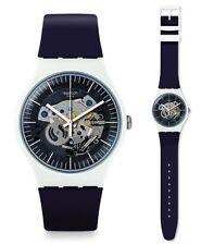 Swatch reloj de pulsera Siliblue Suow156