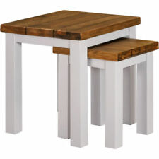 Unbranded Wooden Rectangle Nested Tables