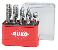 Ruko 116002 carburo Metal amoladoras Set de brocas 10 Pieza