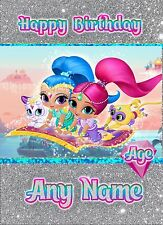 - SHIMMER AND SHINE JEWEL TIME - DAUGHTER NIECE SISTER FRIEND GIRL BIRTHDAY CARD