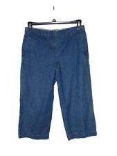 Pre Owned Izod Denim Jean Capris Size 6