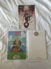 AGE OF ULTRON 1 (2013) 1:25 Variant + Young Variant + Blank sketch Variant. NM+