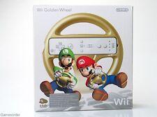 ORIGINAL NINTENDO WII WHEEL / LENKRAD (GOLD auch Club Nintendo) OVP