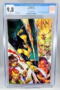 X-MEN #1 CGC 9.8 Tyler Kirkham Virgin VARIANT