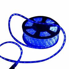 Ainfox 150ft LED Rope Light LED Strip Lights Outdoor Indoor Rope Lighting Blue