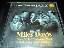 "CD NEUF ""LE MEILLEUR DU JAZZ, VOLUME 4"" Miles DAVIS Glenn MILLER Dizzy GILLESPIE"
