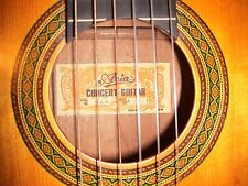 Vtg Aria AC-7 Classical Guitar (Nagoya label) in Nr Mint Condition w/ HardCase
