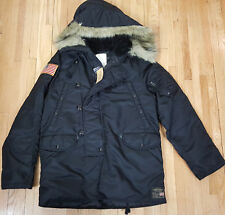 RALPH LAUREN DENIM & SUPPLY MILITARY DOWN SNORKEL PARKA JACKET $345 NEW (MEDIUM)