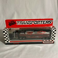 Dale Earnhardt #3 GM Goodwrench Super Star Transporters 1992 Matchbox  NEW