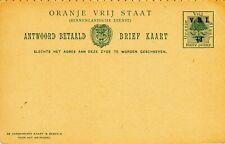 Orange River Colony Postal Card, 1900 H&G 24, Unused