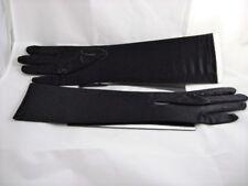 Long Gloves-Black-Ladies/Girls/Wedding-Formal-Prom-Spandex/Nylon