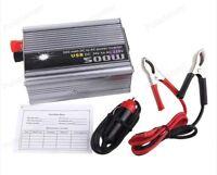 Voiture Puissance Onduleur Convertisseur DC24V-AC 220V 500W Laptop Camion Bateau