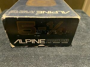"Alpine Electronics 6256CD 5-1/4"" 2-Way Speaker System"