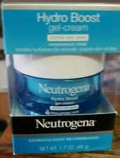 Neutrogena Hydro Boost GEL-CREAM Extra Dry Skin,w/Hyaluronic Acid,NEW