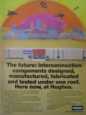 7/1987 PUB HUGHES AIRCRAFT CONNECTING DEVICES ELECTRONICS CONNECTOR CIRCUITRY AD