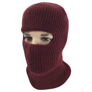 Winter Face Mask Warm Cold Weather One Hole Facemask Black Ski Snow Masks Ninja