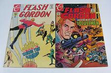Flash Gordon #12 & #18 Clasic Sci-fi Silver Age Charlton Comics 1969-1970