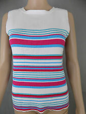 Marks and Spencer Striped Sleeveless Other Tops for Women