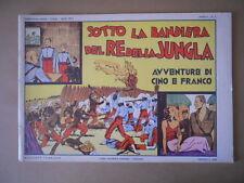 AVVENTURE DI CINO E FRANCO n°1 1973 SOTTO LA BANDIERA DEL RE GIUNGLA [G758]BUONO