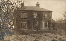 Haslington, Crewe posted House. Card written by W.M.