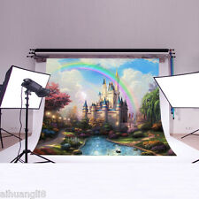 Kids 5X3FT Fairy Scenery Vinyl Photography Backdrop Background Studio Prop DB909