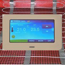 elektrische Fußbodenheizung TWIN Premium 1 bis 20 m2 mit CTS TOUCH SCREEN Regler