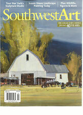 SOUTHWEST ART, FEBRUARY, 2014    (THE COLLECTOR'S CHOICE FOR OVER 40 YEARS )