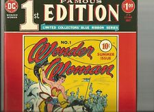 FAMOUS 1ST EDITION giant reprint of Wonder Woman #1 1975 Golden Age DC Comics