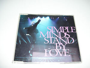 SIMPLE MINDS - STAND BY LOVE * 4 track CD MAXI 1991 *