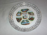 VINTAGE 1960-70S YELLOWSTONE NATIONAL PARK SOUVENIR PLATE