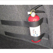 5PC Car Trunk Store Content Bag Rapid Fire Extinguisher Holder Safety Straps Kit