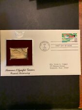 1983 - SUMMER OLYMPICS (Women's Swimming).  Gold Replica FDC (by PCS). Addressed