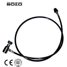 "Airsoft Paintball Accessories PCP Straight 52"" inch Remote Hose Thick Air Line"