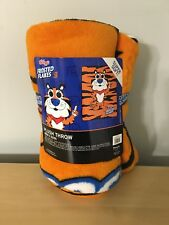 """Funko POP! Loungefly Tony The Tiger 48""""x 60"""" Frosted Flakes Fleece Throw Blanket"""