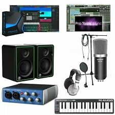 Home Recording Bundle w/ Presonus & Pro Tools First Mackie Audiobox 96K