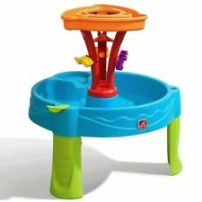 new Step2 Summer Seaside Showers Splash Play Water Table with 12 Accessories