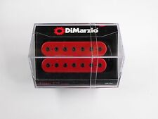 DiMarzio Titan 7 String Bridge Humbucker Red W/Black Poles DP 714
