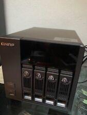 QNAP TurboNAS TS-410 4Bay - 6 TB (3x 2 TB) WD RED